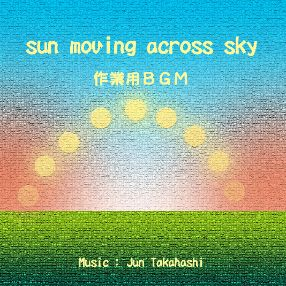 Sun moving across sky - 作業用BGM